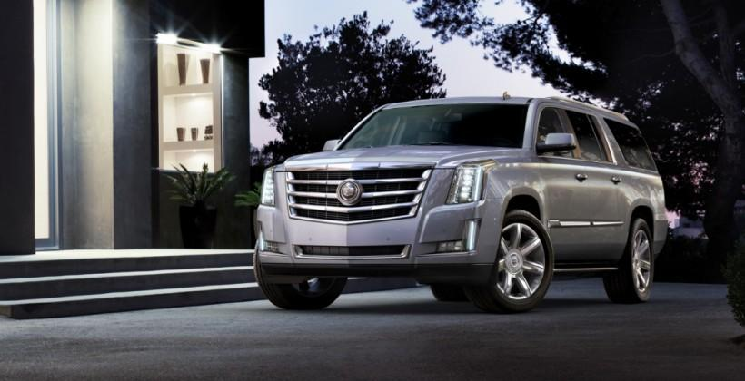 2015 Cadillac Escalade luxury SUV introduced with redesign