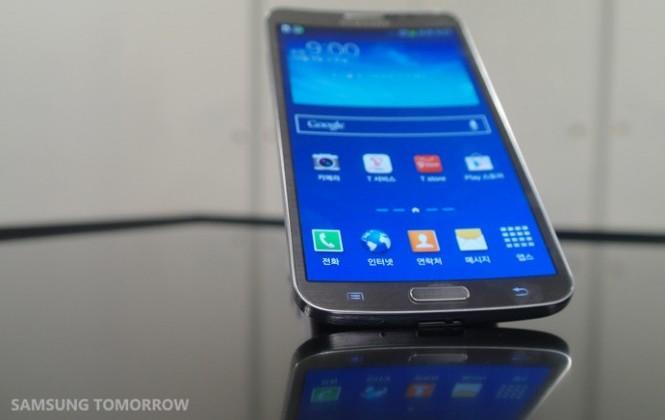 Samsung Galaxy Round curved smartphone just a prototype