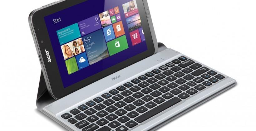 Acer Iconia W4 tablet official as Acer tries 8-inch Windows 8 again