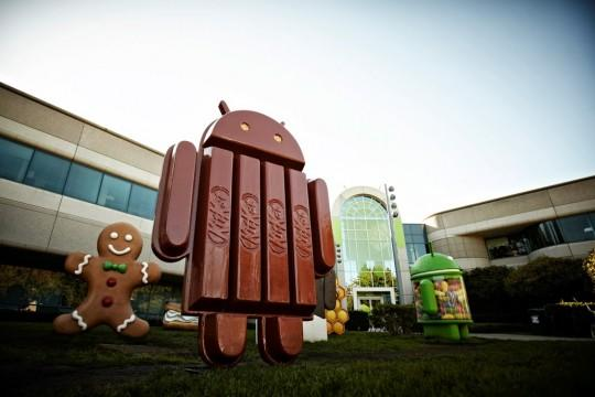 Android 4.4 KitKat release starts November: Nexus first