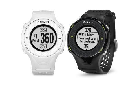 Garmin Approach S4 Golf watch has a touchscreen and smart notifications