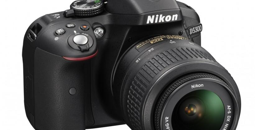 Nikon D5300 melds quality SLR performance with wireless connectivity