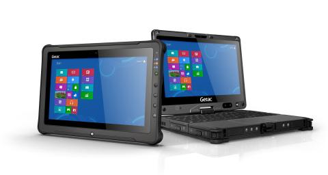 Getac V110 notebook and F110 tablet are thin and rugged