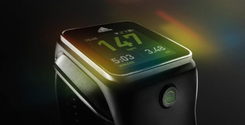 Adidas miCoach SMART RUN Android smartwatch detailed