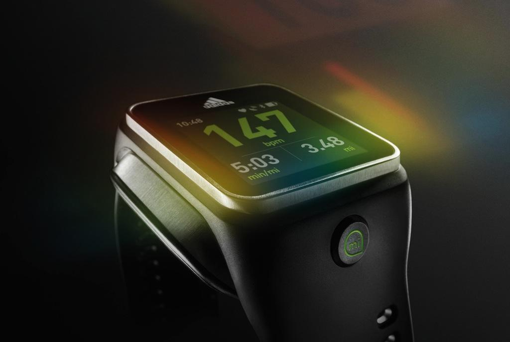 Adidas miCoach SMART RUN Android smartwatch detailed - SlashGear
