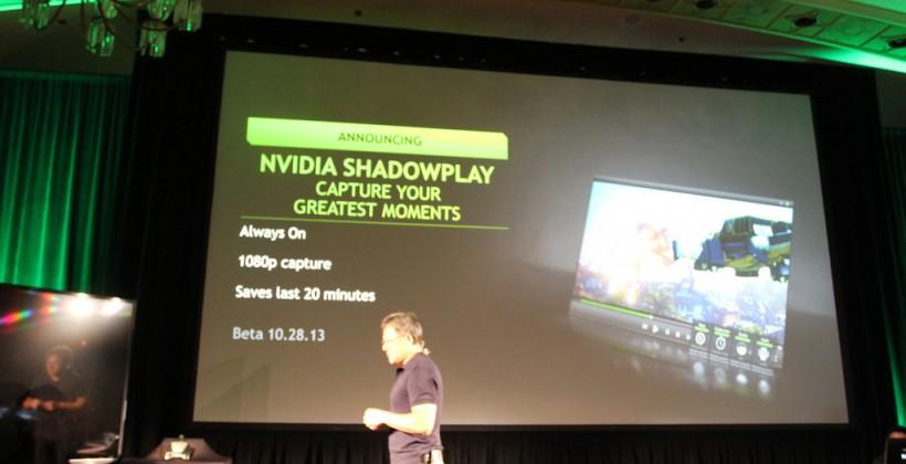 NVIDIA Geforce streaming hits Twitch at 60fps with Shadowplay this month