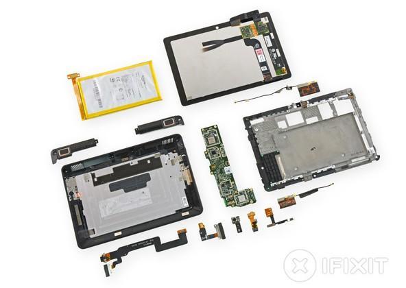 Kindle Fire HDX 7 teardown shows LG display, low repairability