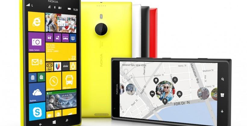 Nokia Lumia 1520 official: 6-inch Windows Phone 8.1 with 20MP PureView