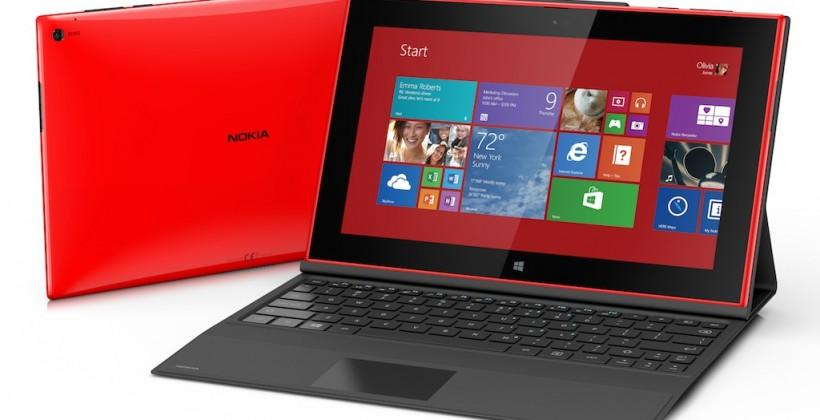 Nokia Lumia 2520 tablet official: Windows RT and LTE