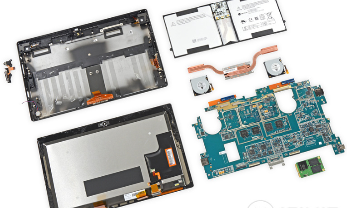 Microsoft Surface Pro 2 teardown shows woes for DIYers