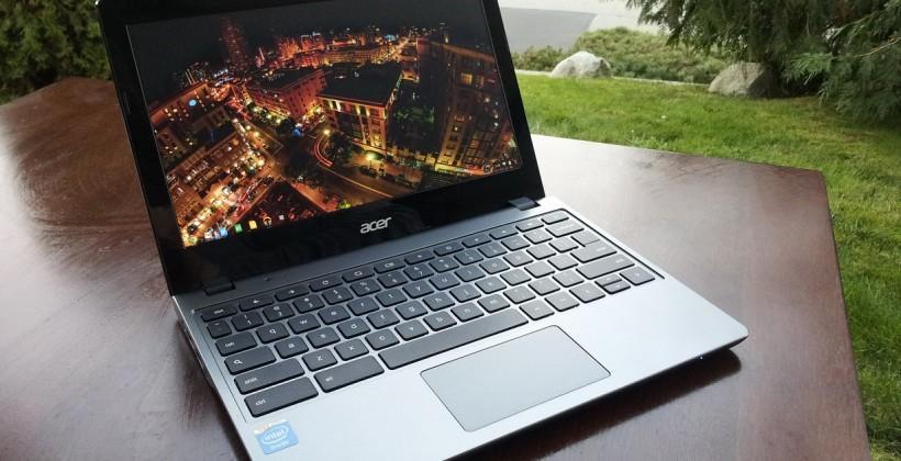 Acer Chromebook C720 Review - SlashGear