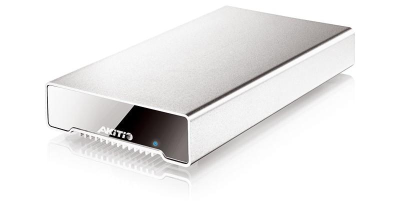 Akitio Neutrino Thunderbolt 512GB external SSD is a bus-powered first