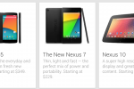 Google Nexus 5 product shot surfaces on Google Play