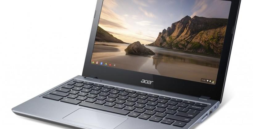 Acer C720 Chromebook taps Haswell and SSD for 8hr battery
