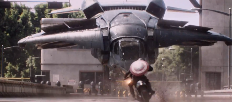 Captain America: The Winter Soldier trailer sets fire to the future