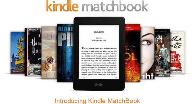 Amazon Kindle MatchBook launches today: digitizing your paper library