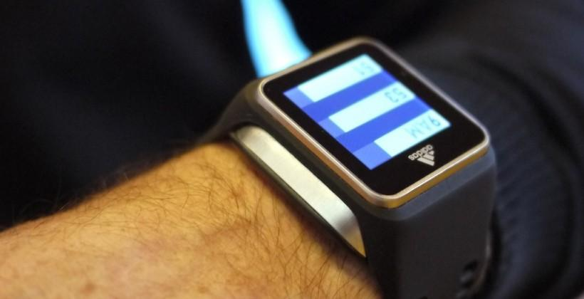 Adidas Smartwatch takes fitness seriously with GPS [Update: Live pics!]