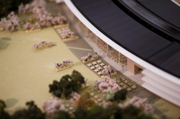 Apple Spaceship campus model
