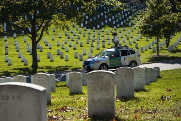 Google Street View visits Arlington National Cemetery