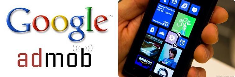Google AdMob comes to Windows Phone 8