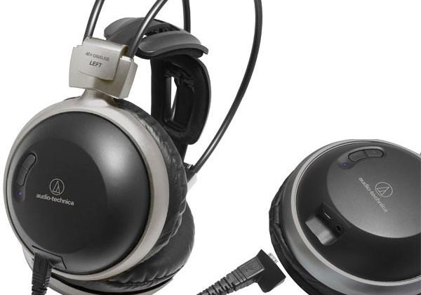 Audio-Technica ATH-D900USB USB headphones are first with a 24-bit USB DAC
