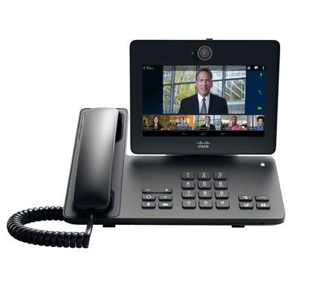 Cisco DX650 desk phone runs Android with 7-inch touchscreen
