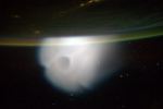 Strange clouds photographed from ISS tied to secret Russian missile launch