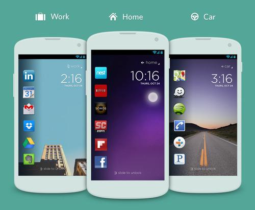 Cover for Android adds contextual lockscreen with location magic