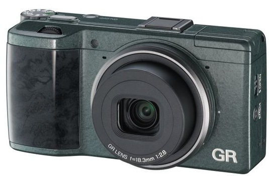 Ricoh GR Limited Edition digital camera introduced with patterned design