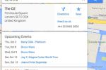 Google Maps earns multiple destinations, upcoming events, reservations tie-in