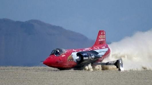 Female land speed record broken by Jessi Combs after 48 years