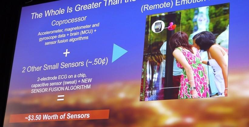 Fifty cents more in sensors could've made the iPhone 5s an empath