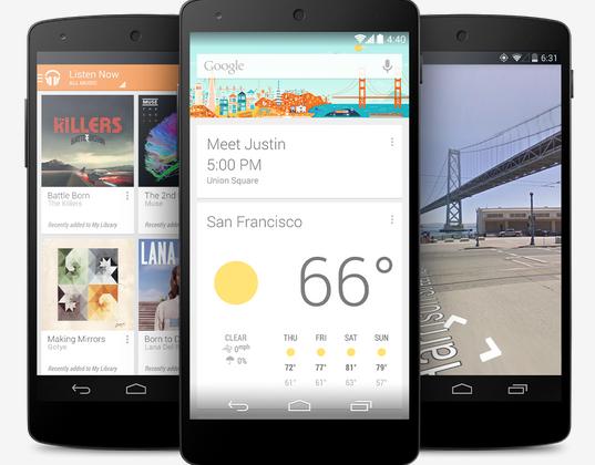 Nexus 5 release set for November 1st