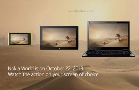 Nokia teases tablet, laptop, and phablet unveil for October 22 event