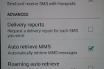 Google Hangouts SMS integration tipped