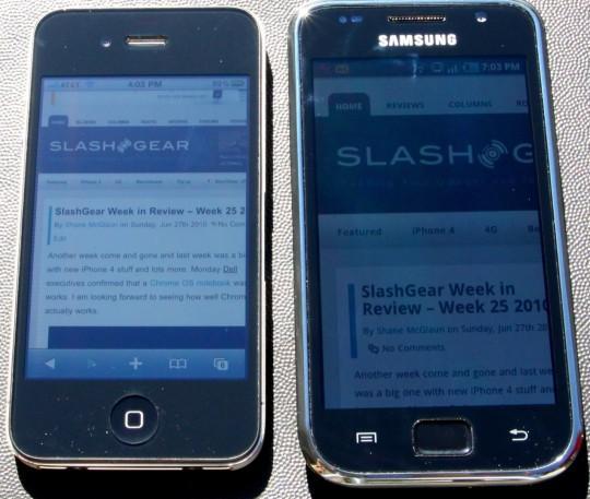 iPhone4-vs-GalaxyS-direct-sunlight-540x457