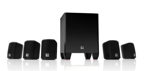 JBL Cinema 610 and 510 surround sound systems bring big theater sound home