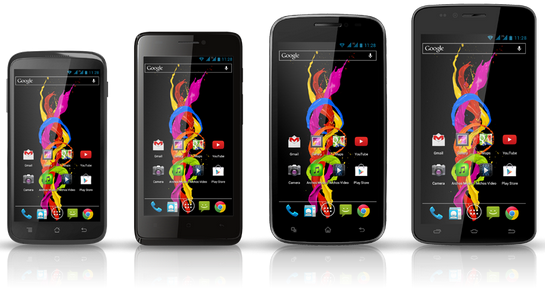 Archos Titanium smartphone budget series brings Jelly Bean and Dual-SIM support
