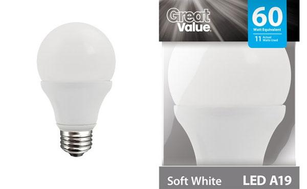 Walmart corners LED light bulb market with new bulb line
