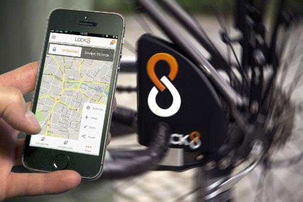 LOCK8 Internet connected smart bike lock debuts