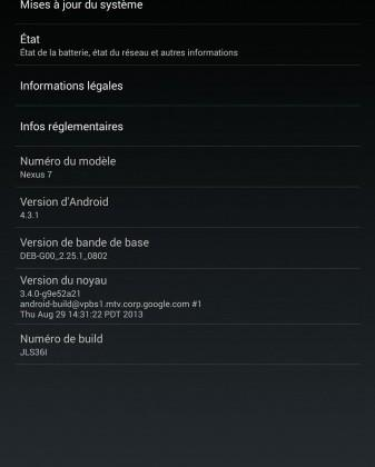 Android 4.3.1 update hits Nexus 7 LTE tablet