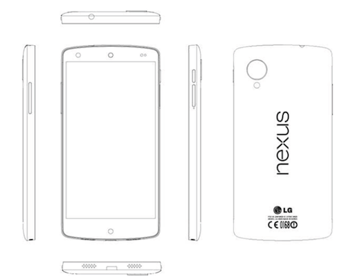 Nexus 5 service manual leaked as LG specs hit the rumor mill