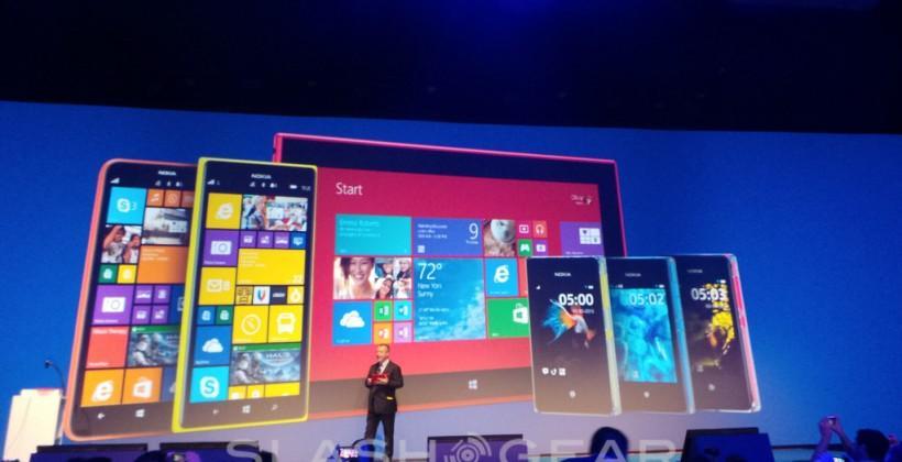 Nokia Lumia 1320 puts WP8 on a 6-inch midrange phablet