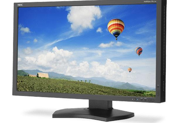 NEC PA272W monitor offers 10-bit wide color gamut and GB-R LED backlight