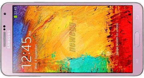 Pink Samsung Galaxy Note 3 launches in the UK