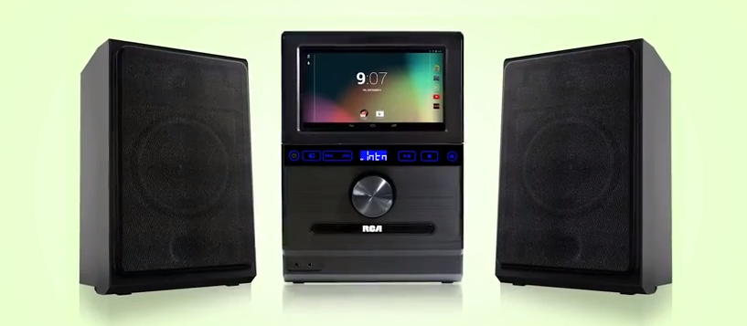 RCA Internet Music System makes Android tablet a centerpiece
