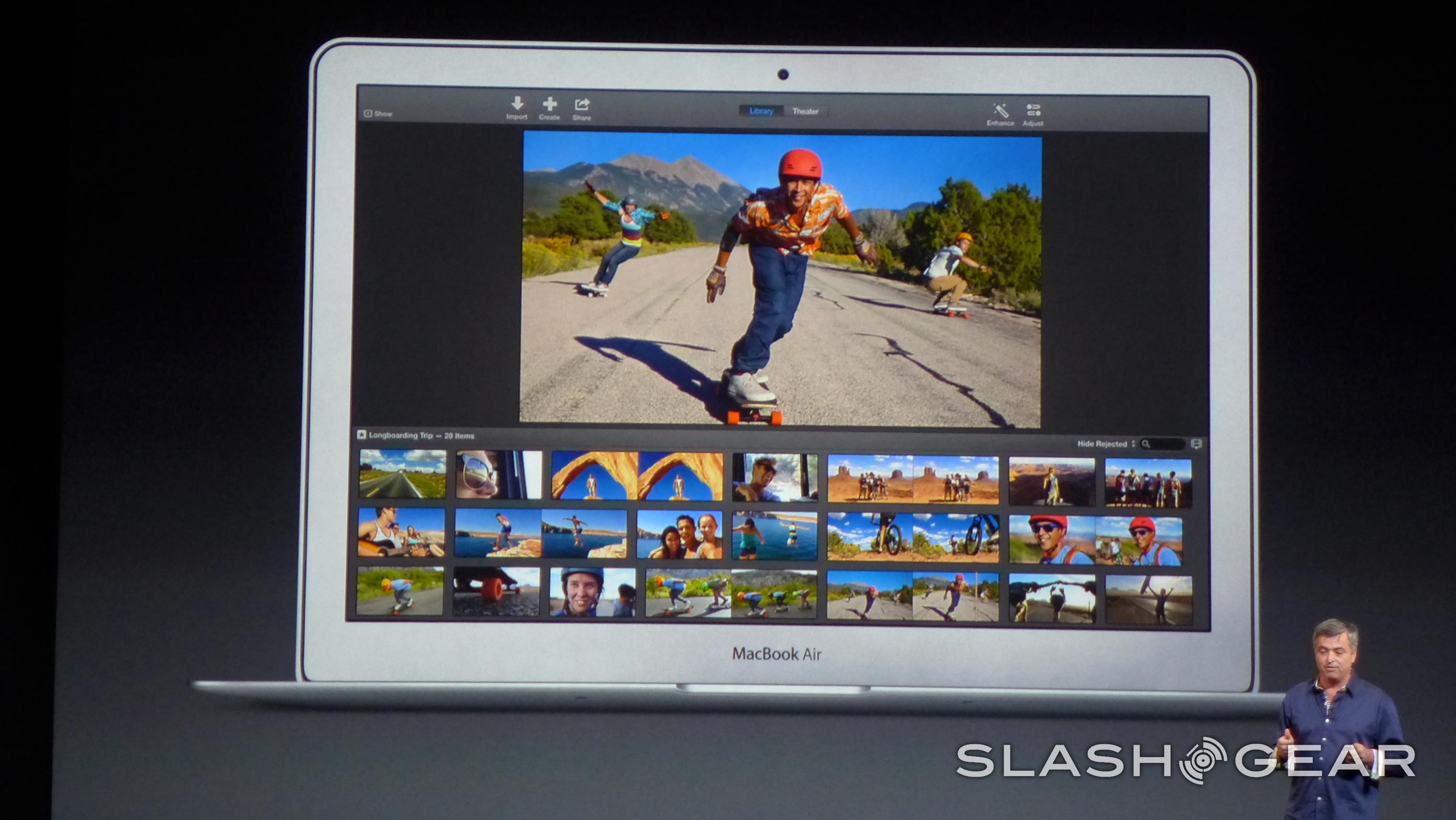 iLife update for iOS and OS X: iMovie, iPhoto, Garageband
