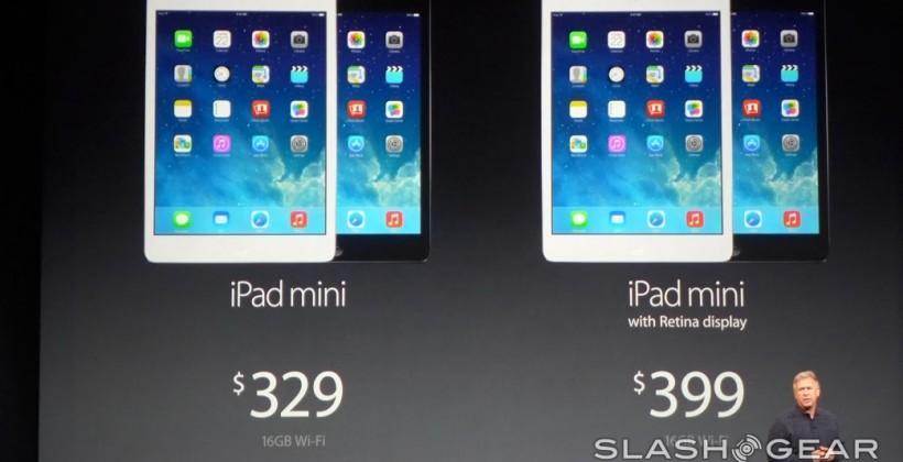iPad mini 2 official with Retina display