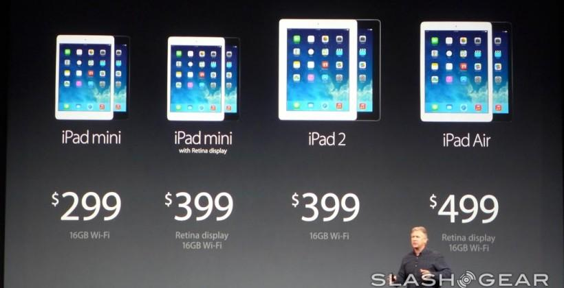 iPad mini pricing detailed with late-November ship time