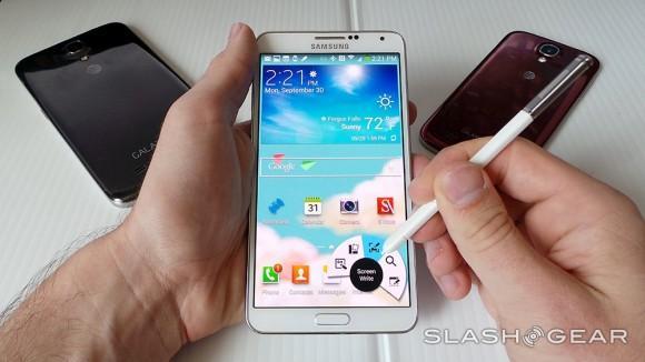 Samsung Galaxy Note 3 has locked flash counter to void warranties
